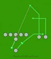 9 On 9 Flag Football Plays Part 10