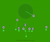 Defensive 9 On 9 Flag Football Plays