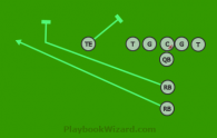 9 On 9 Flag Football Plays
